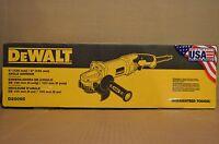 Brand Dewalt D28065 13amp 5, 6 High Performance Grinder With Trigger Grip