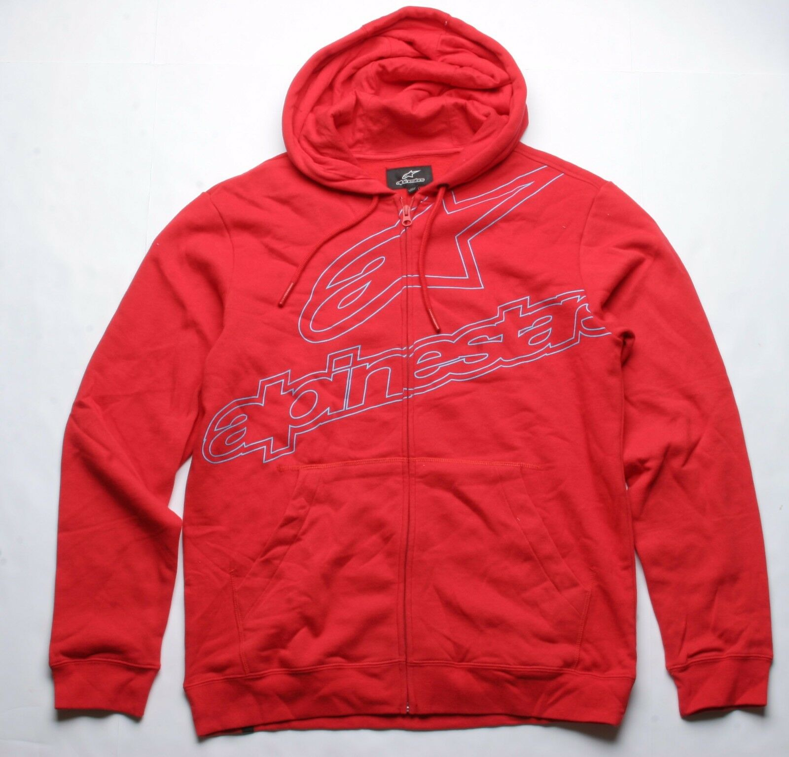 Alpinestars Apparatus Fleece Hoody (M) ROT
