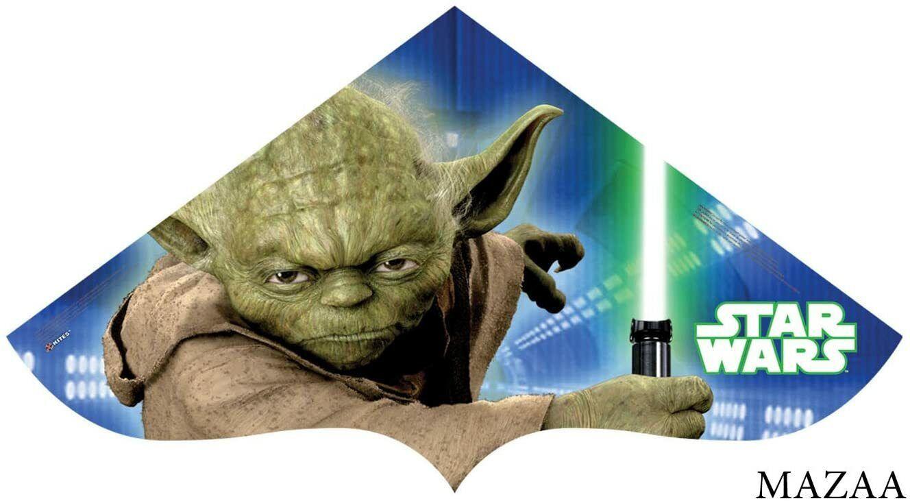 Star Wars Yoda Inflatable 33-inch wide Poly Kite SkyTails X Kites