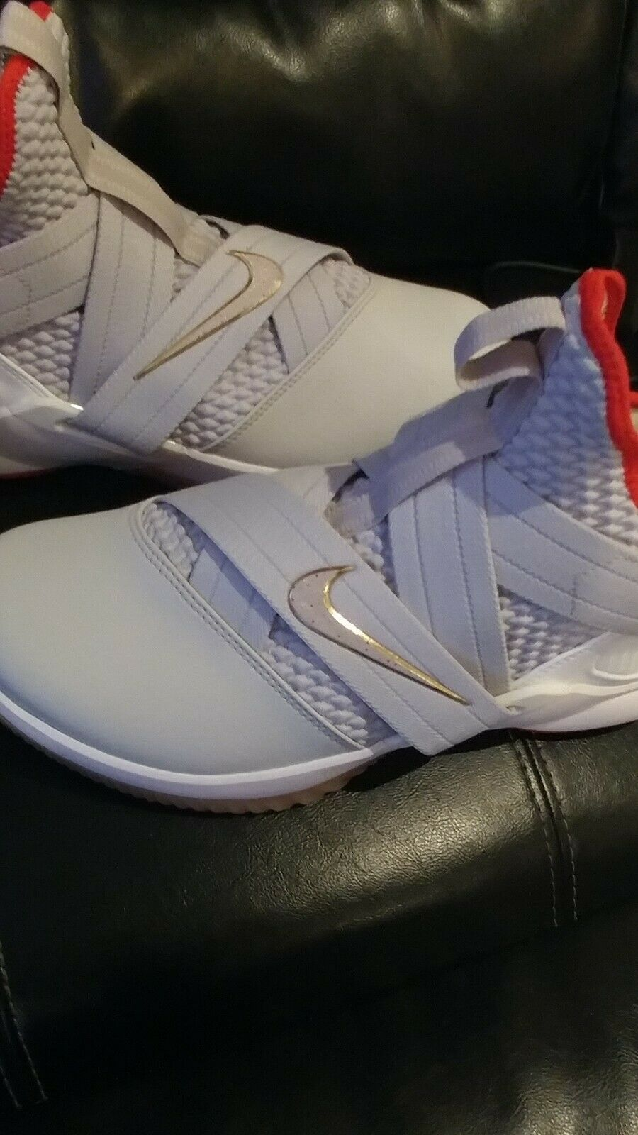 """Nike Lebron Soldier 12 """"Yeezy 2"""" a02609-002 Size 10 NEW"""
