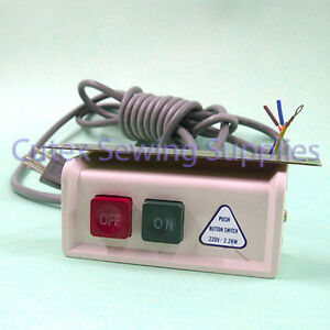 Onoff power switch box with cord for industrial sewing machines image is loading on off power switch box with cord for publicscrutiny Choice Image