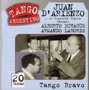 Tango-Bravo-D-039-Arienzo-Echague-Laborde-2005-CD-NUOVO