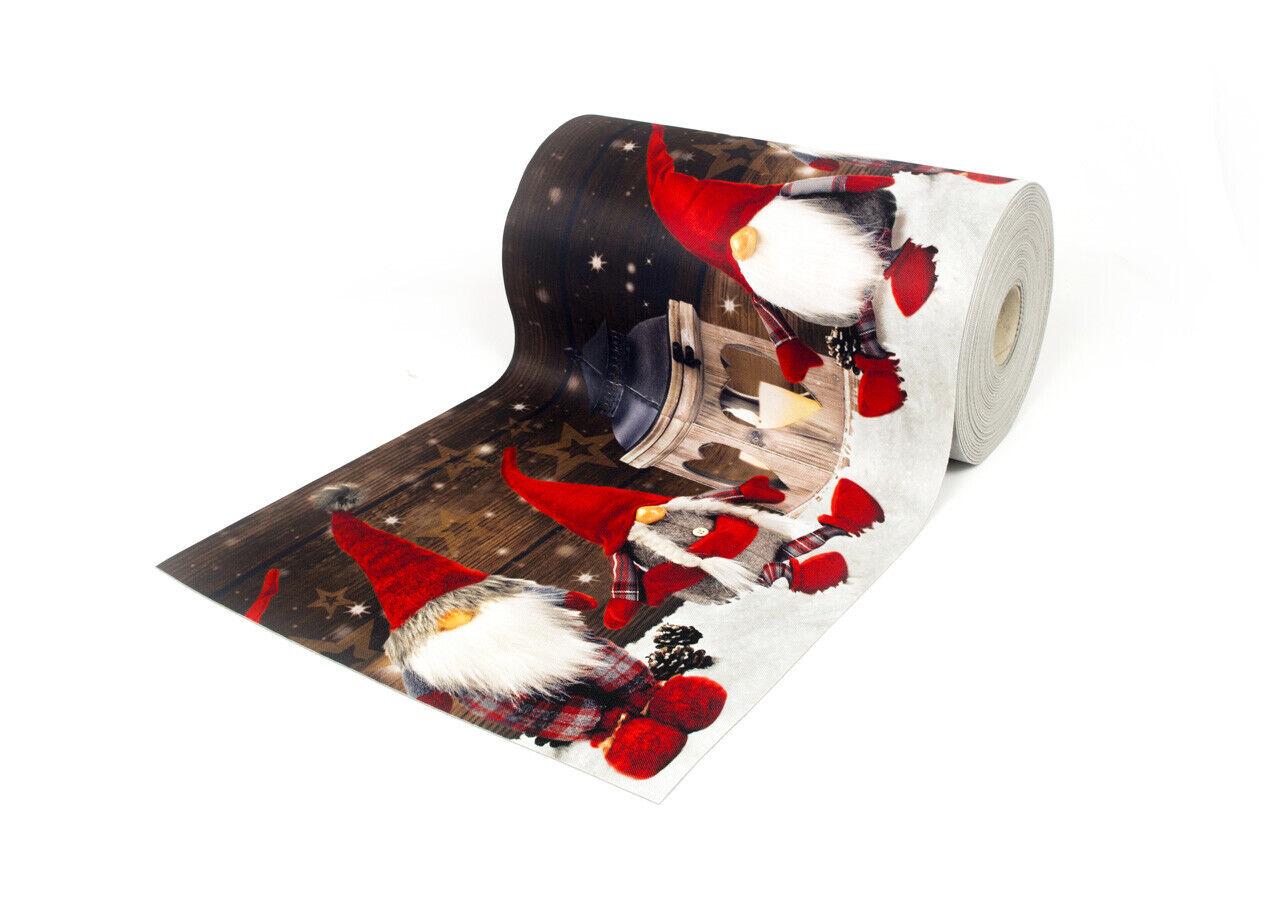 Tappeto Passatoia Antiscivolo Elfo Con Stampa Digitale Dis. Elfo Antiscivolo Coloreee Neve 36c2e0