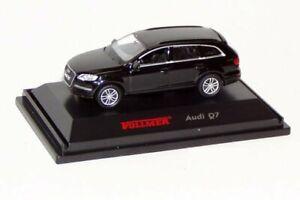 Vollmer-1618-H0-Audi-Q-7-schwarz-Fertigmodell-Neu-OVP
