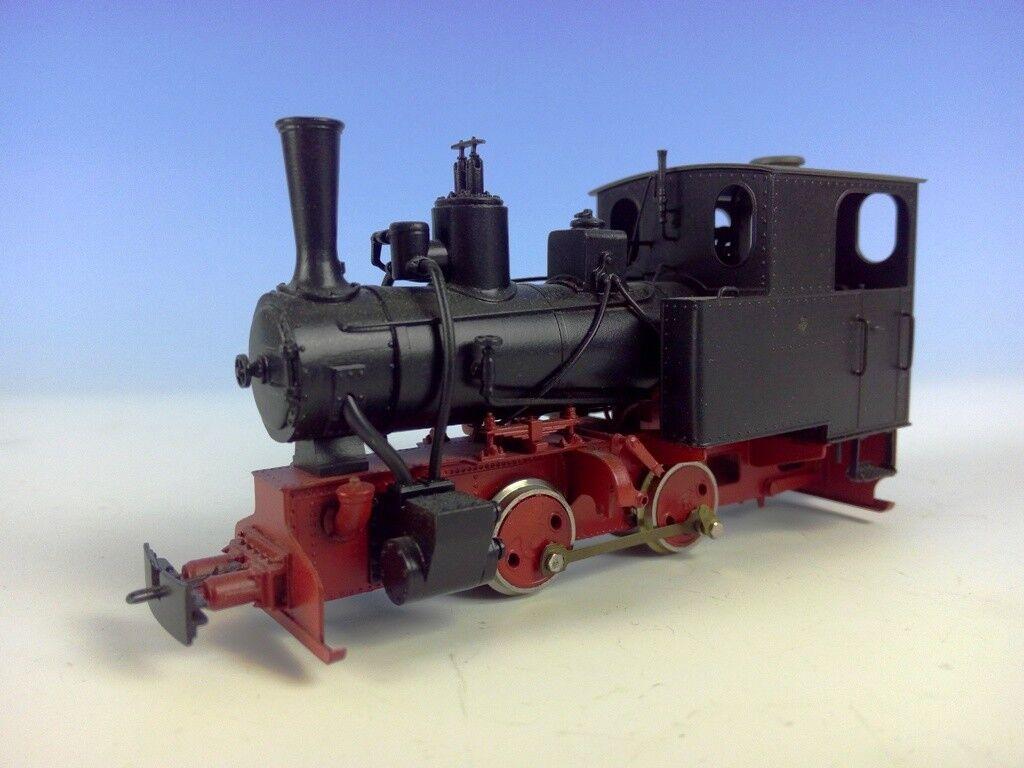 Linden traccia 0f campo ferroviario ferrovia di fabbrica giovane hilax locomotiva bn2t + Lore