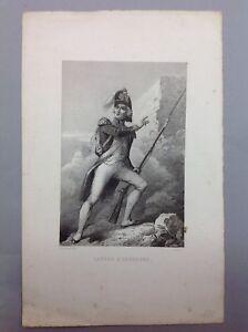 Gravure-Ancienne-19-LATOUR-D-039-AUVERGNE-A-Lacauchie-dessin-Rebel-grav