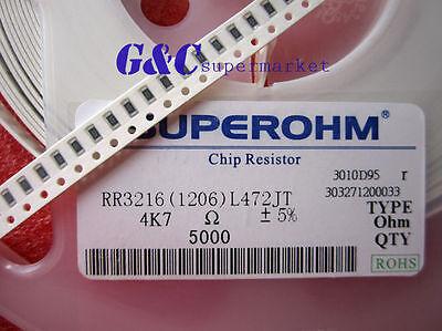 100PCS 18KOhm 18000Ohm 1//4W 1/% 1206 SMD Resistor RoHS NEW GOOD QUALITY