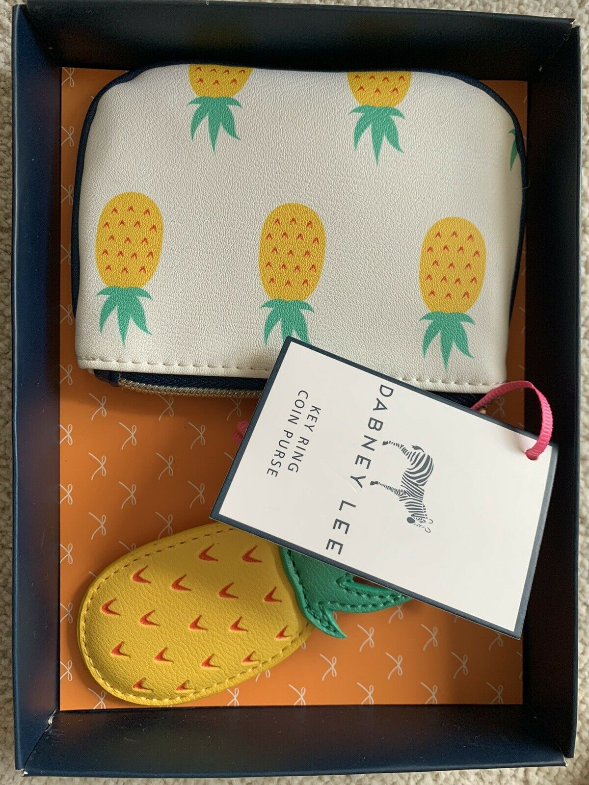 Coin Purse And Keyring Set