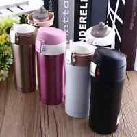 350ML Travel Mug Coffee Water Bottle Portable Vacuum Flask Thermos Cup 4Color