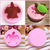 Sea Turtle Silicone Mould Beach Decoration Fondant Icing Cake Mold