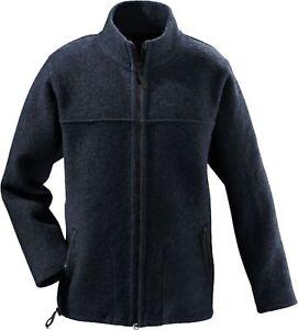 Details zu Mufflon Herren Outdoor Walk Jacke Janus Schurwolle W300 Navy Größe XXL