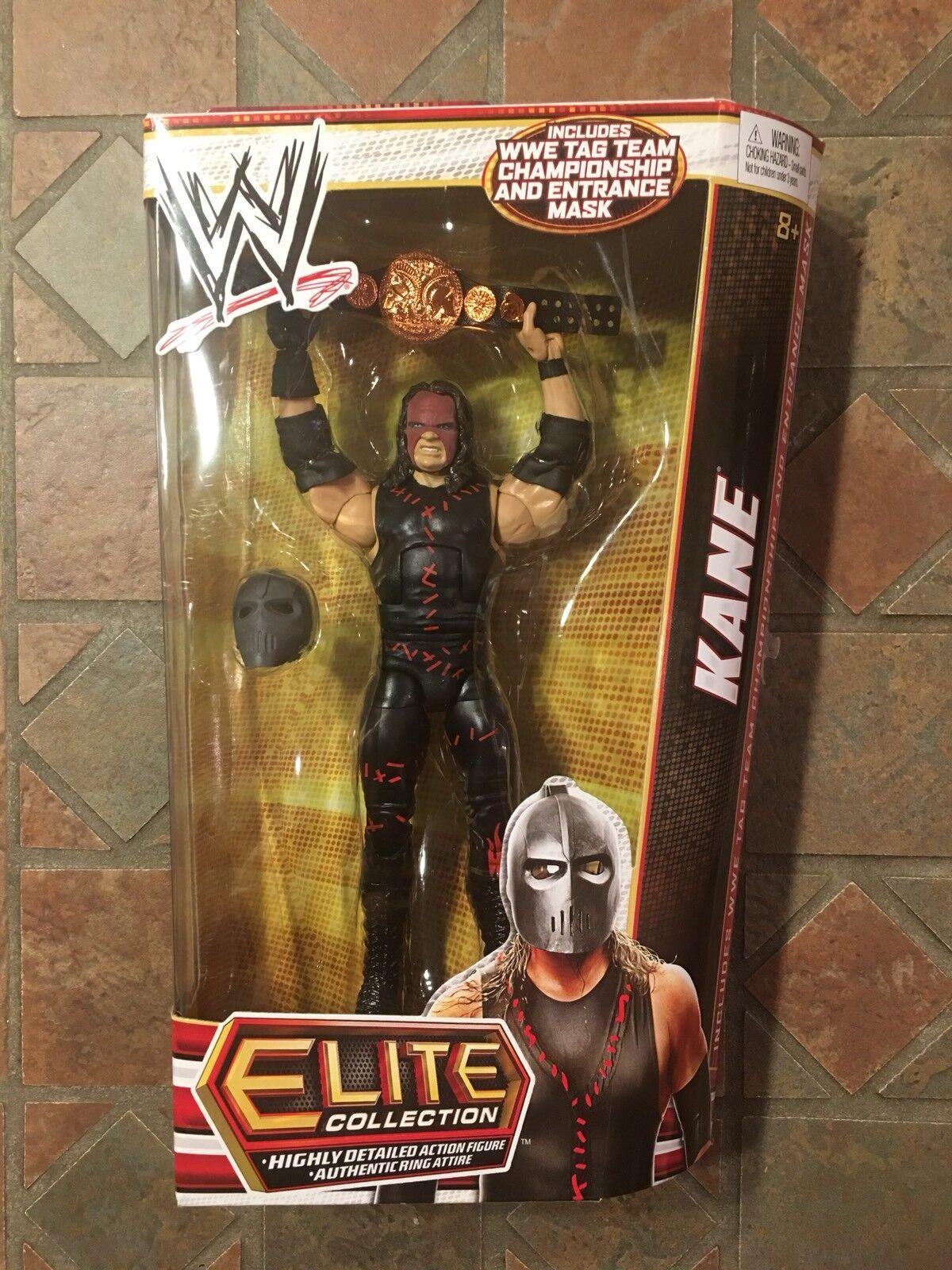 Mattel WWE Elite KANE Figure Series 22 Mask The Demon Tag Team championship