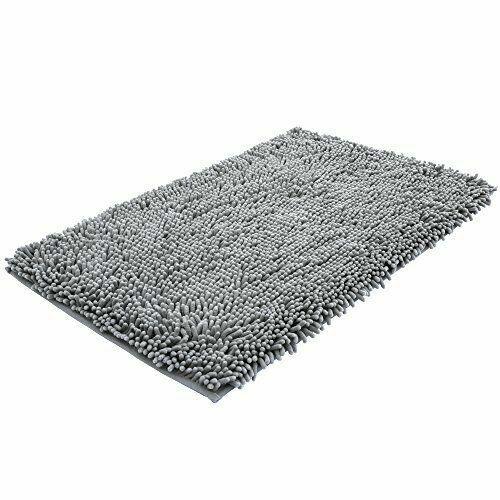 Bath Mat Microfiber Shag Bathroom Rugs