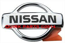 1999-2001 Nissan Pathfinder | Front Radiator Grille Chrome Emblem Logo OEM NEW