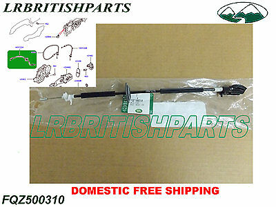 Genuine DOOR LOCK CABLE RELEASE INTERNAL FRONT OR REAR LR3 FQZ500310