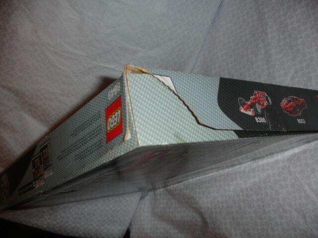 NEW LEGO RACERS NITRO MENACE 8649 RETIRED 2005 COMPLETE RARE RARE RARE GREEN CAR 175907