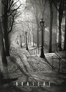 Les-Escaliers-de-Montmartre-Paris-Brassai-Art-Print-France-Photo-Poster-20x28