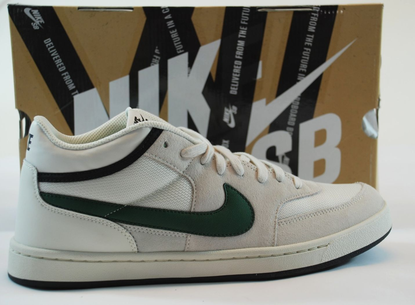Nike CHALLENGE COURT SB Swan Gorge Green noir Discounted (169) homme chaussures