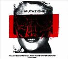 Mutazione: Italian Electronic & New Wave Underground 1980-1988 [Digipak] by Various Artists (CD, Aug-2013, 2 Discs, Strut)