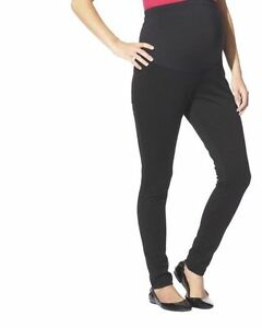 94302ac556c0a New Womens Maternity Leggings Black Liz Lange Flex Ponte NWT Sz Size ...