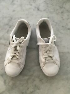 Details about Women Nike Court Majestic Athletic Tennis Sneakers WhiteSilver 454256 114 sz 7