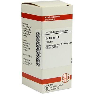 DAMIANA D 4 Tabletten 80 St PZN: 2629587