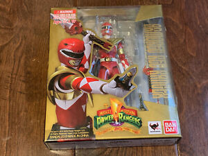 Bandai S.H. Figuarts Mighty Morphin Power Rangers Armored Red Ranger CIB
