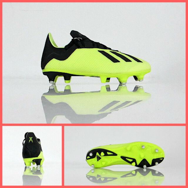 50db487f ADIDAS football shoes X 18.3 SG AQ0710 col. yellow FLUO/NOIR august 2018