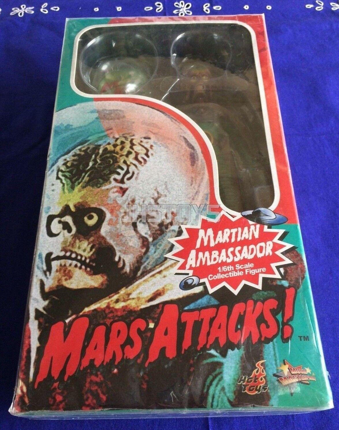 Hot Toys 16 Marte Ataque Marciano embajador MMS108 Japón