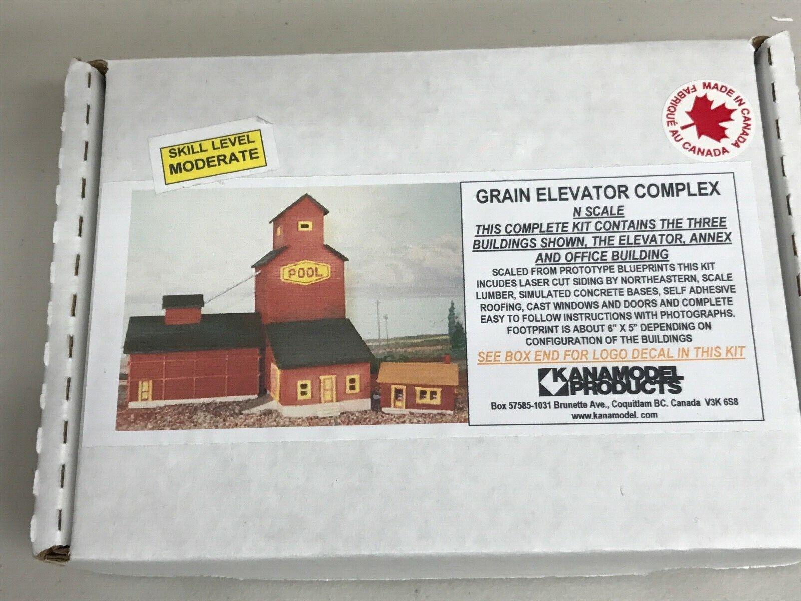 Kanamodel N kit 6026 Grain Elevator Complex Cargill