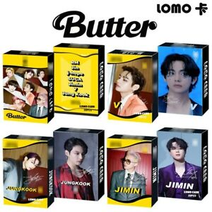 30 PCS BTS LOMO CARDS KPOP BANGTAN BOYS BT21 PHOTO CARDS SUGA JIMIN JIN JK V RM