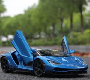 Maisto 1 18 Lamborghini LP770-4 Centenario Diecast Model Racing Car Vehicle bluee
