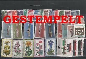 Germany-Berlin-vintage-yearset-1975-Postmarked-Used-complete-More-Sh-Shop