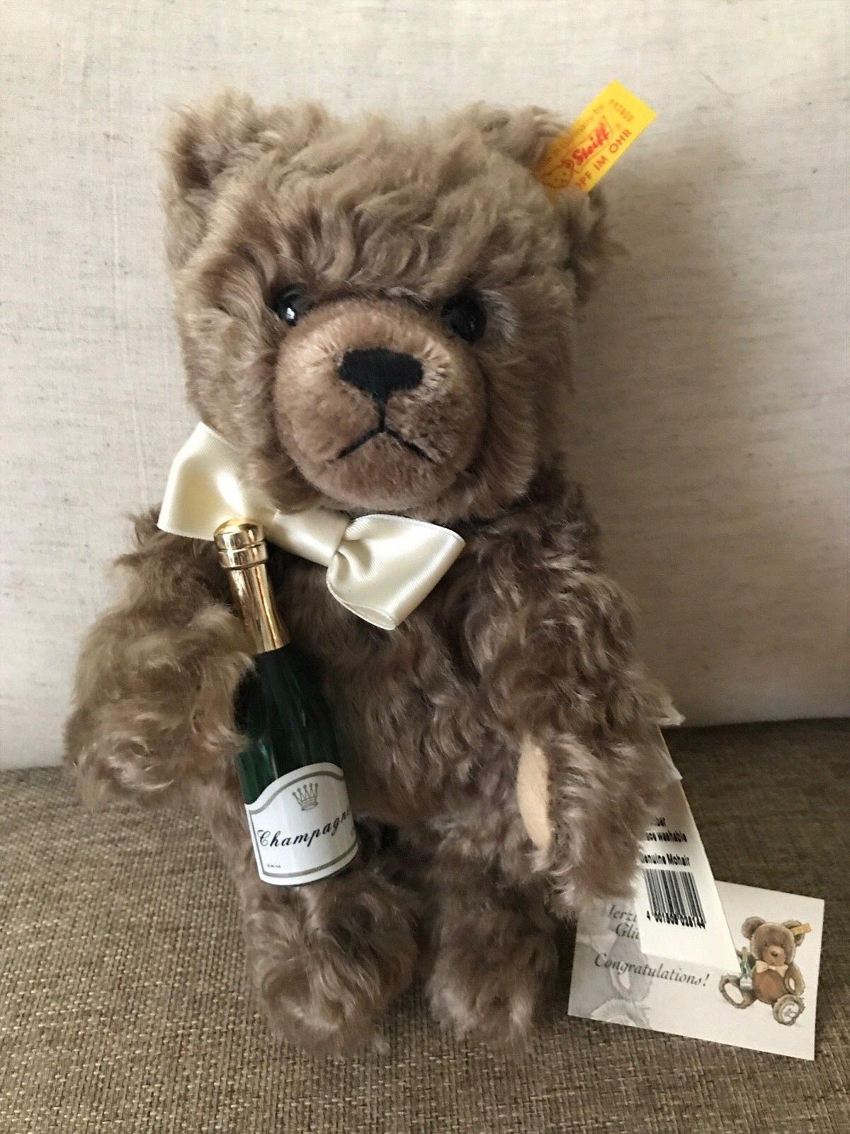 Steiff  028144 Congratulations Congratulations Congratulations Teddy orso NWT c81d45