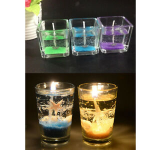 Details about WHOLESALE 600g CLEAR CANDLE MAKING WAX GEL JELLY WAX SUPPLIES  TRANSPARENT