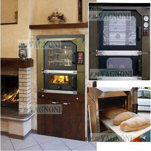 Forno A Legna Tafer Genesis Classic 80 Interno Oro Wood Oven For
