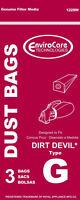 Type Vacuum Bag Fits Dirt Devil Hand Vac Style