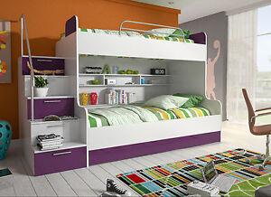 Etagenbett Unten Doppelbett : Etagenbett mit der treppe sind in einer vielzahl von