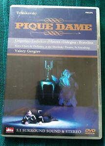 TCHAIKOVSKY-PIQUE-DAME-DVD-R-ALL-LIKE-NEW-FREE-POST-WITHIN-AUSTRALIA