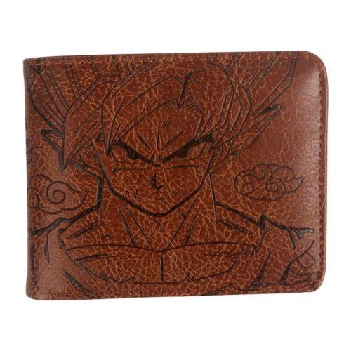 Anime Dragon Ball Z Goku Bifold Wallet Coin Pocket Card Holder Boys Men Purse