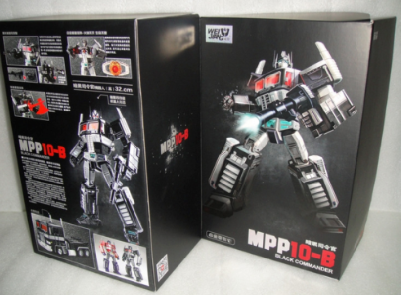 Neue verformung spielzeug version mpp10b dunkle version commander optimus prime.
