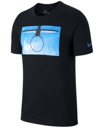 stile di moda del 2019 cerca l'originale stile classico del 2019 Nike Basketball Hoop Graphic Print T Shirt Black Mens XL New for ...