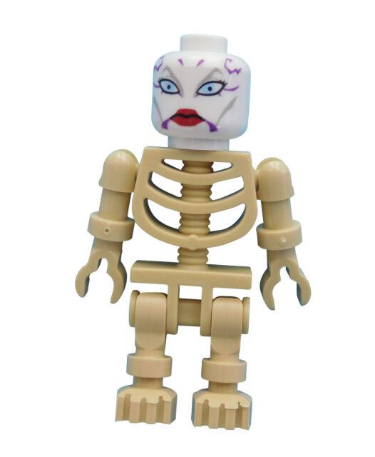 Lego beiges Skelett Asajj Ventress Minifigur in tan Star Wars Neu