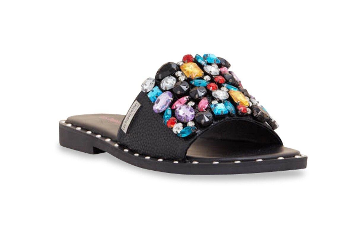 Les TROPEZIENNES sandali con nero con sandali pietre multicolore 748b79
