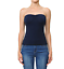 Womans-BASIC-Layering-Stretch-PLAIN-Strapless-TUBE-TOP-Seamless-Sleeveless-Tee 縮圖 15