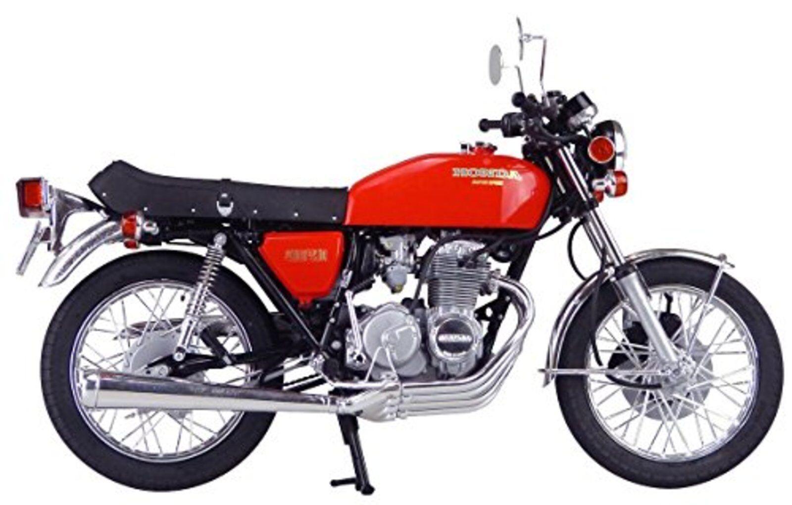 1 12 Bicicleta Serie No.15 Honda CB400 Cuatro Plástico Kit Modelo Nuevo de Japón