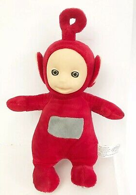 rouge Teletubbies Cbeebies Talking Dipsy Jouet Doux New without tags