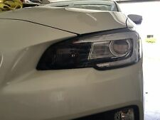 2015 - 2017 Subaru WRX STI Headlight DayTime Running Light Tint 20% Dark Smoke