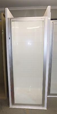Fibreglass Shower With Framed Glass Screen SH11 - Caravans, Motorhome & RV