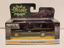 BATMAN 1966 Classic TV Series Batmobile Diecast Car 1/32 Jada Toys 5 inch